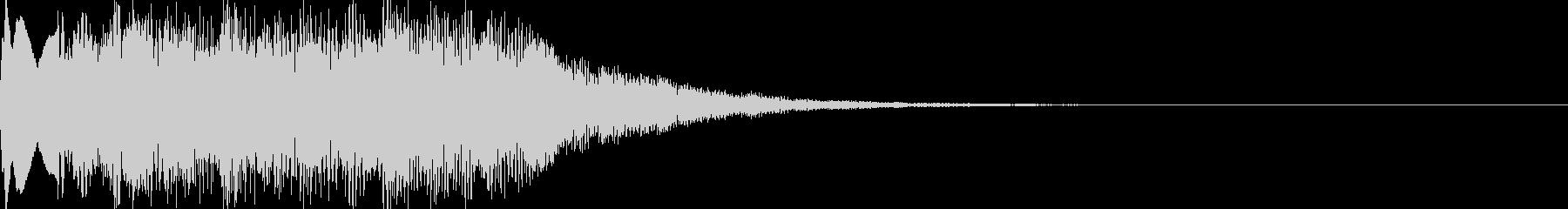 ゼルダの扉が開く音(パロディ)の未再生の波形
