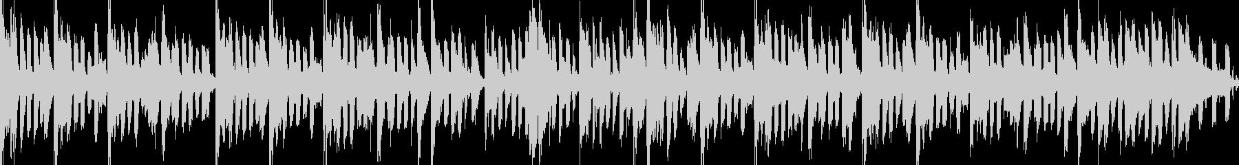 明るくグルーヴィでお洒落なピアノジングルの未再生の波形
