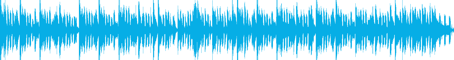 明るくグルーヴィでお洒落なピアノジングルの再生済みの波形
