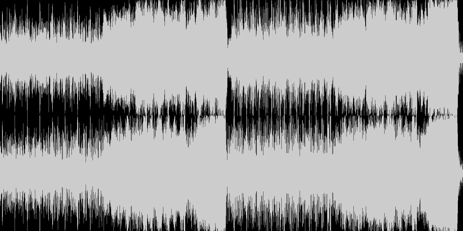 爽やかで明るいオーケストラ曲の未再生の波形