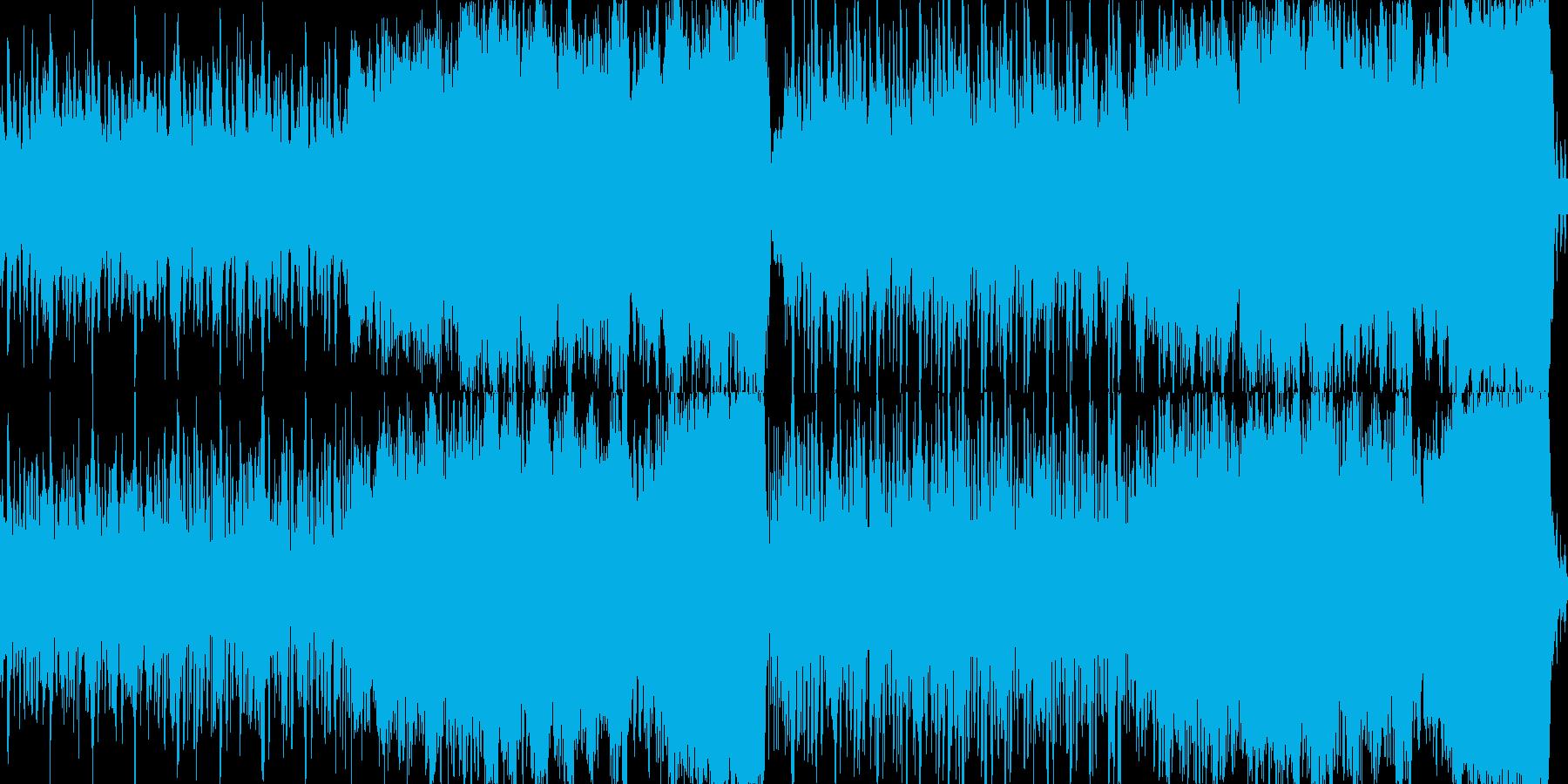 爽やかで明るいオーケストラ曲の再生済みの波形