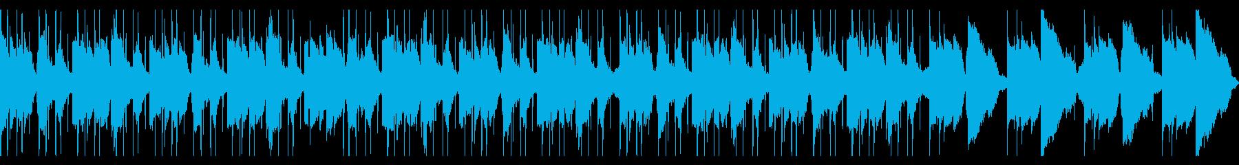 ギターLofiHiphop 切ない cの再生済みの波形