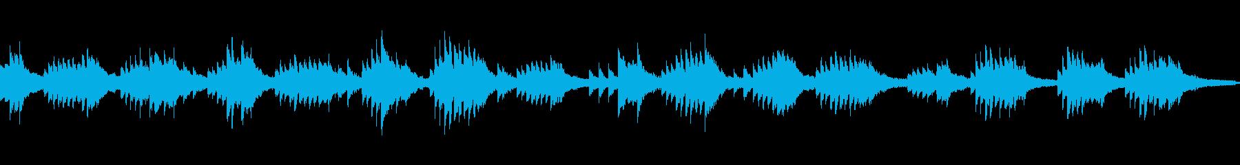 仄暗いミステリアスなピアノソロ:ループ可の再生済みの波形