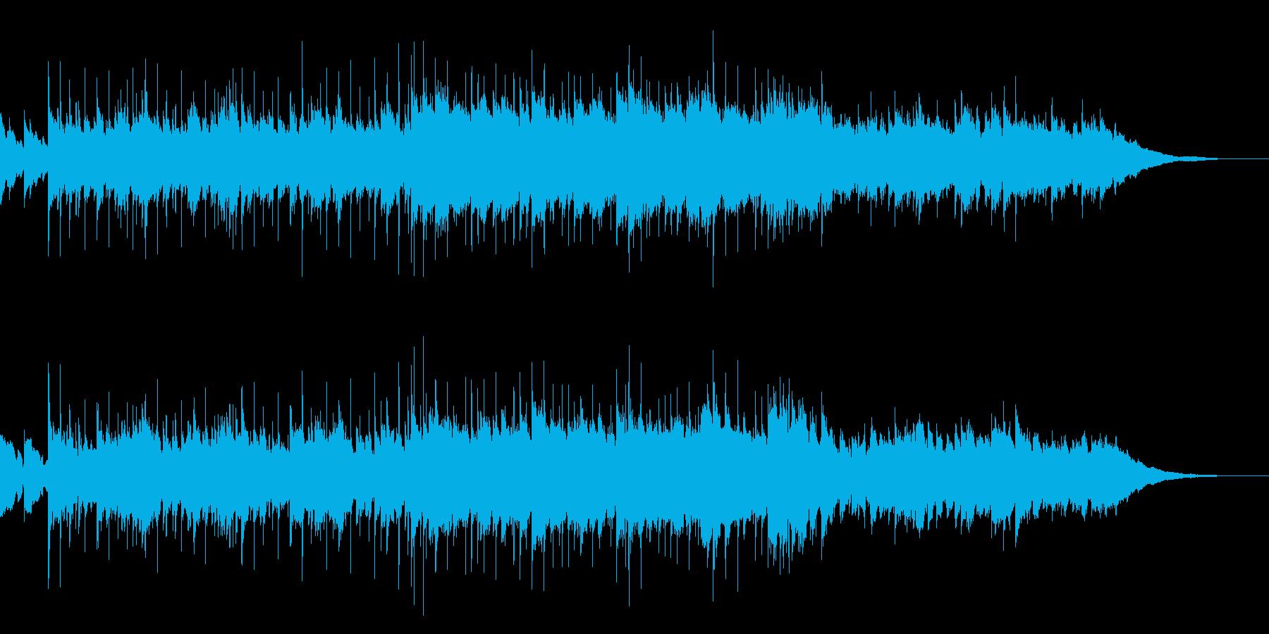 アコギとシタールほのぼの夕暮れカントリーの再生済みの波形