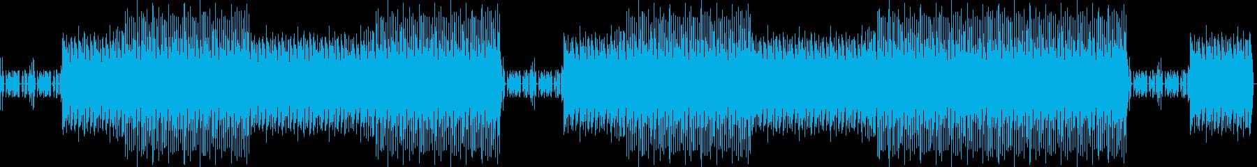ゲームがスタートするような曲の再生済みの波形