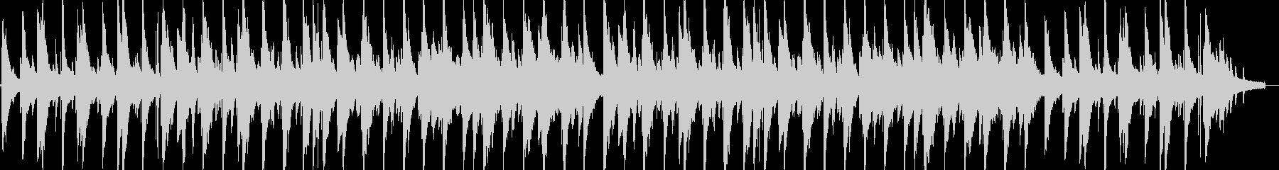 しっとり冬のジャズピアノの未再生の波形