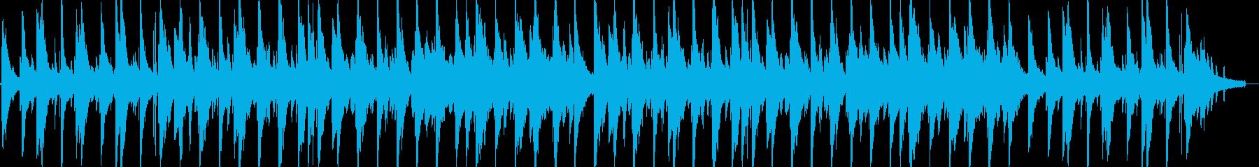 しっとり冬のジャズピアノの再生済みの波形