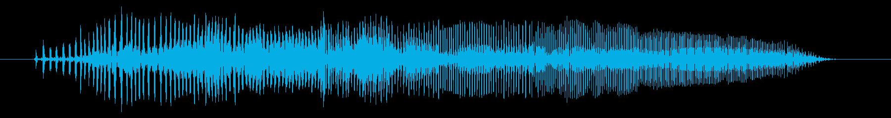 空腹03-1の再生済みの波形
