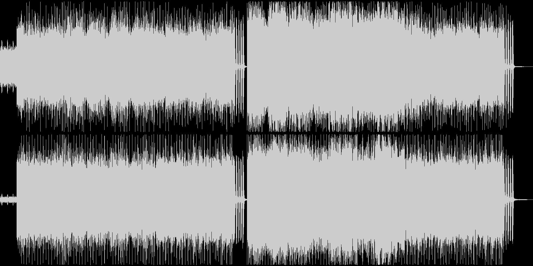 爆走ロック・メタル系BGM No.1の未再生の波形