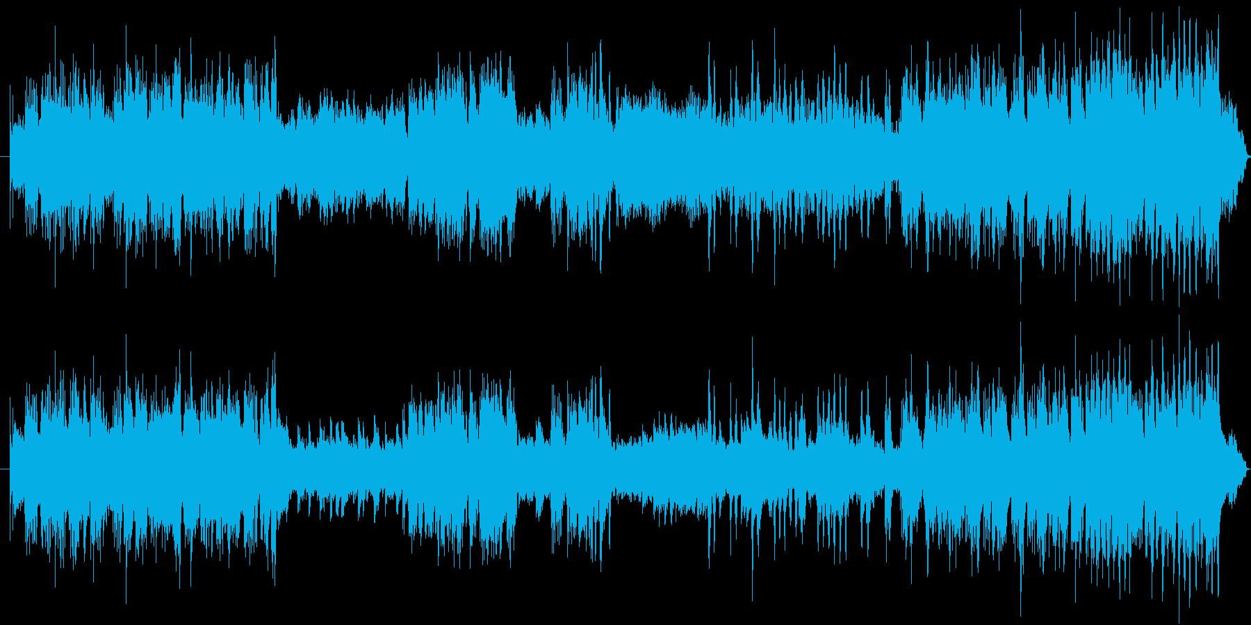 明るめ、軽快な曲のイメージで、バッハの…の再生済みの波形