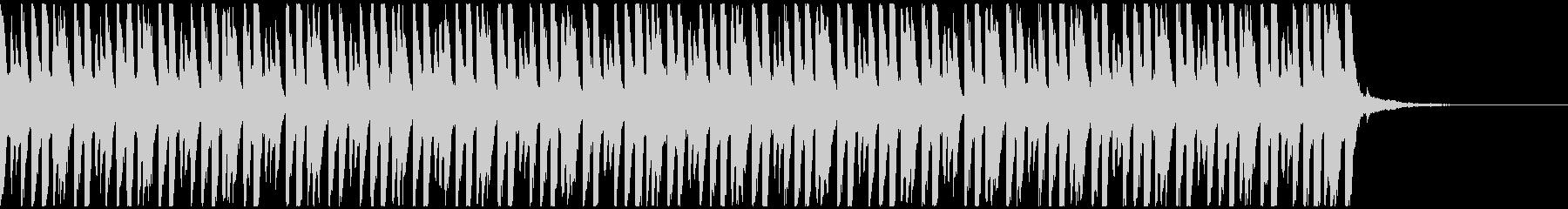 ハッピーデイ(40秒)の未再生の波形