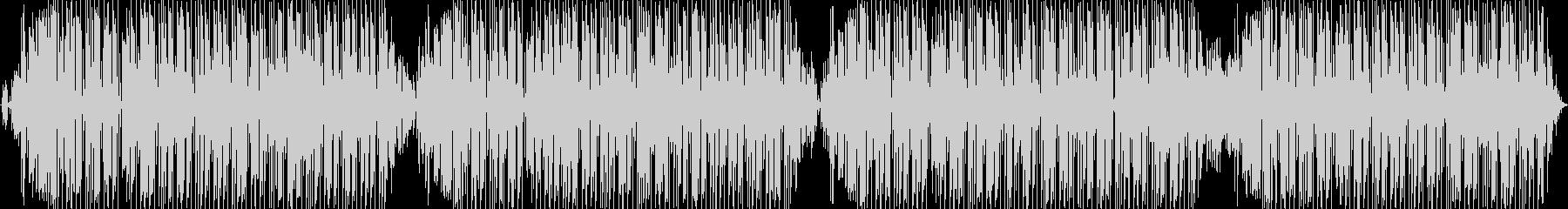 このエレクトロニカダンスチューンは...の未再生の波形