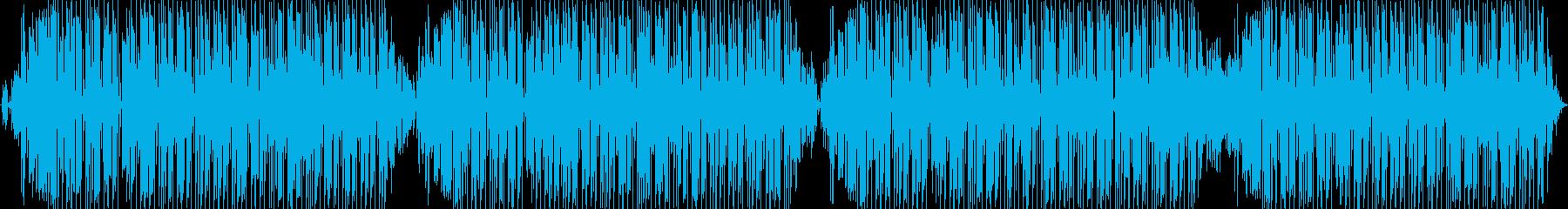 このエレクトロニカダンスチューンは...の再生済みの波形