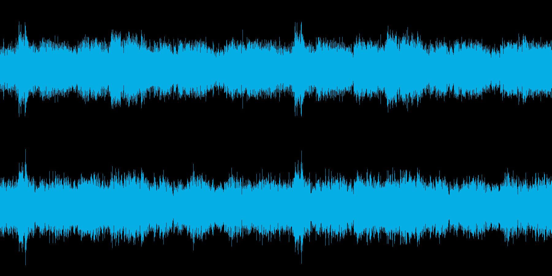 森の陶酔 ヒーリング リラクゼーションの再生済みの波形