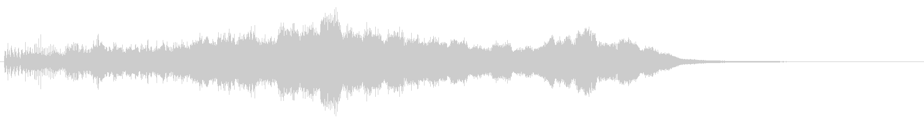 上昇 パンムーバー02の未再生の波形