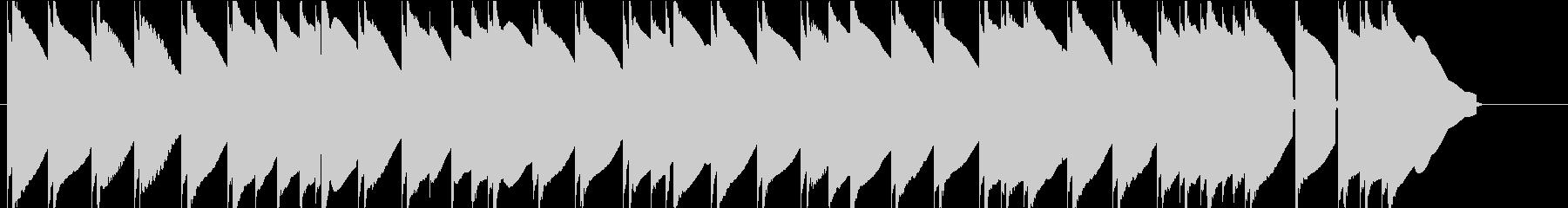 エレピのスローBGMです。の未再生の波形