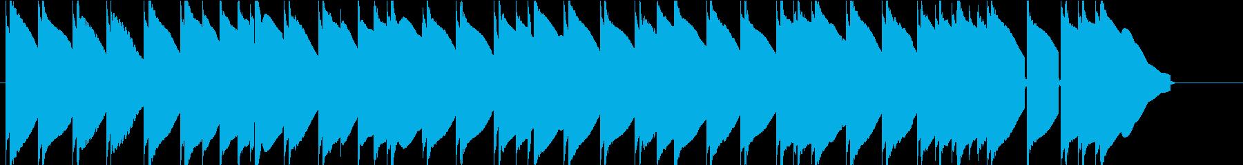 エレピのスローBGMです。の再生済みの波形