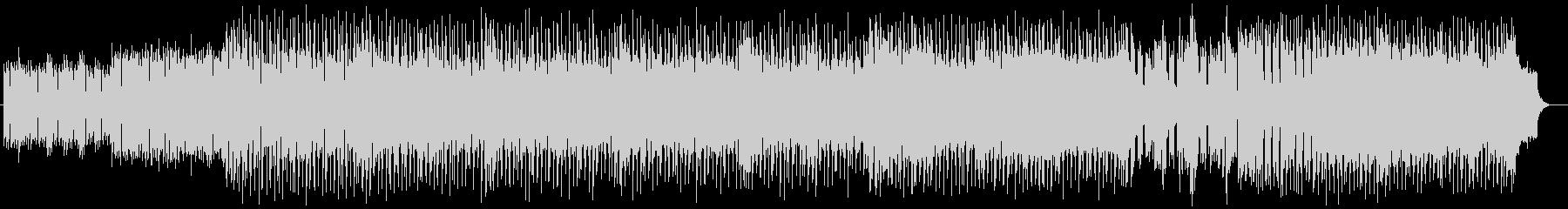 明るく楽しげな管楽器シンセサウンドの未再生の波形