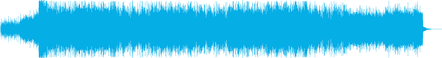 近未来感のある激しいエレクトリックロックの再生済みの波形