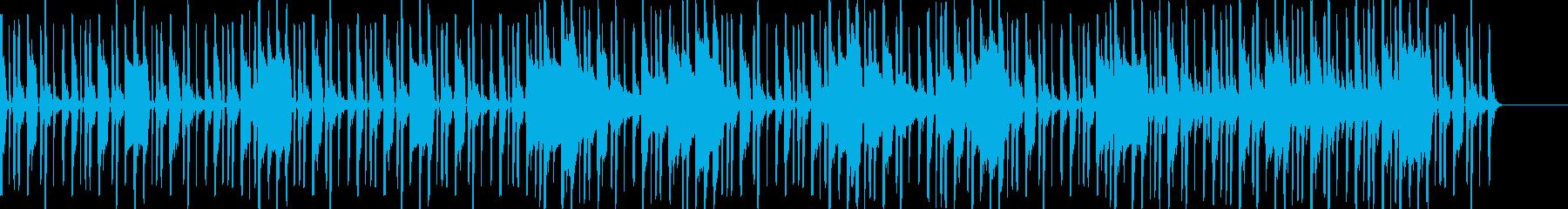 深海や洞窟のような謎が深まるエレクトロの再生済みの波形
