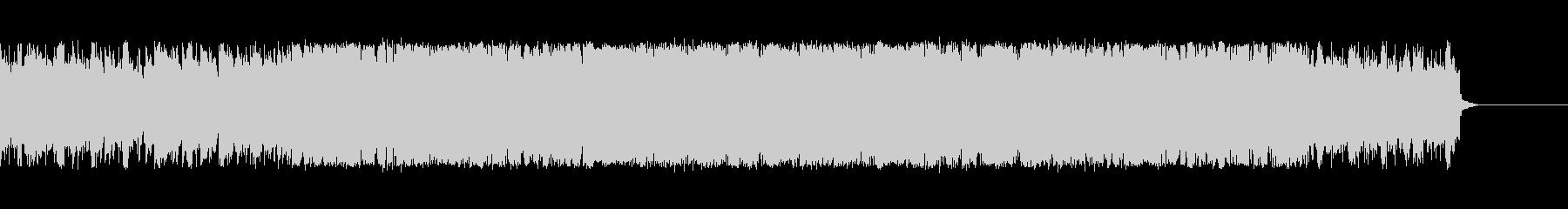 爽やかでシンプルなアップテンポ曲の未再生の波形