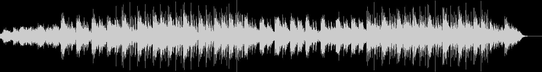 デザイン的な映像に合うエレクトリック曲の未再生の波形