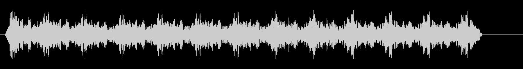サイレンブラジルパトカー-サイレン2の未再生の波形