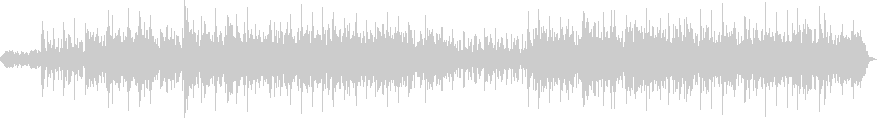 Refreshing and gentle healing BGM's unreproduced waveform