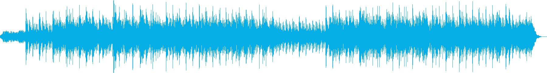 Refreshing and gentle healing BGM's reproduced waveform