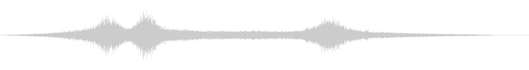 【生録音】 早朝の街 交通 環境音 9の未再生の波形