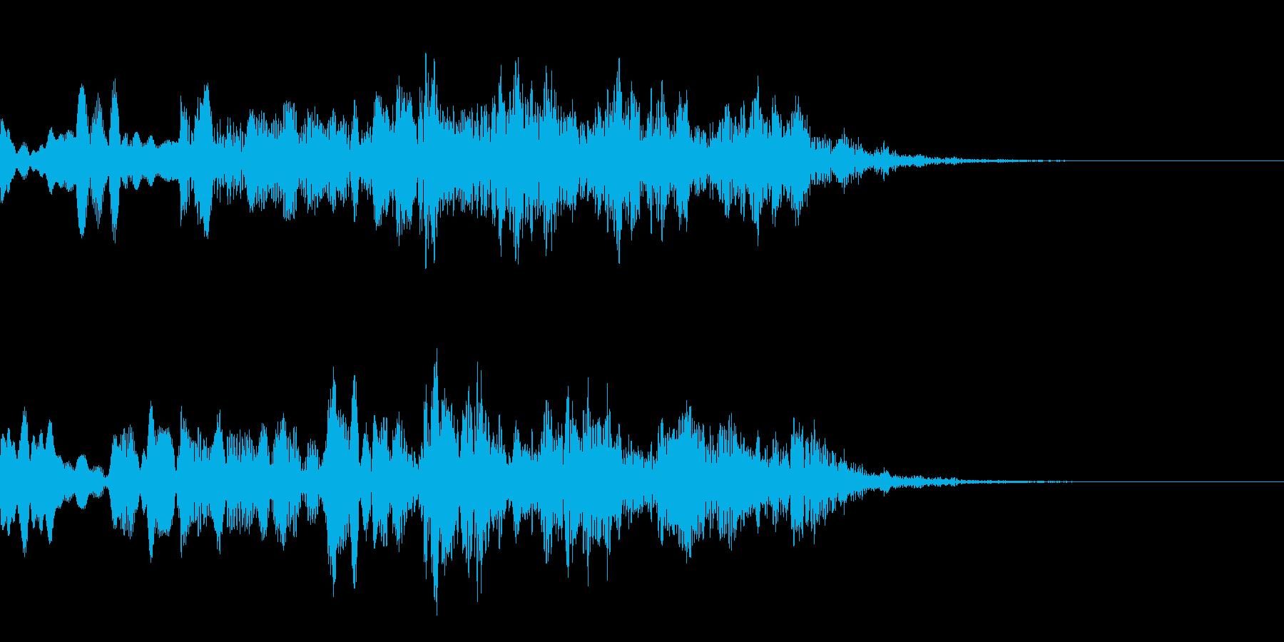 不思議な音03の再生済みの波形
