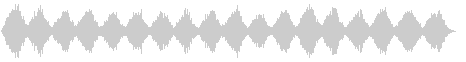 南極の風をイメージしたテクスチャーパッドの未再生の波形