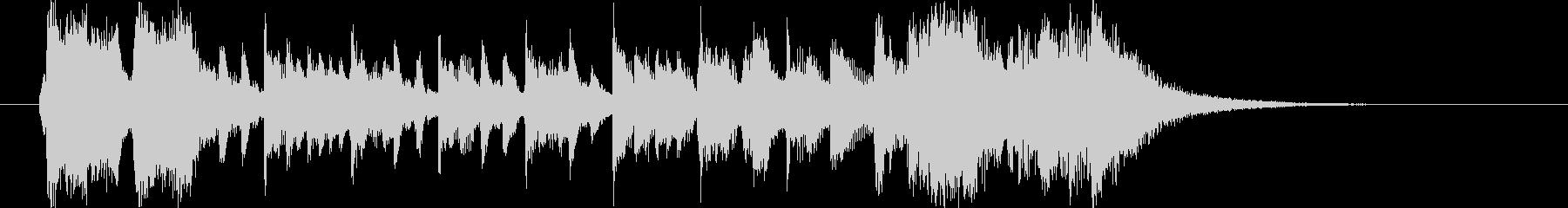 盛大でファンタジーなシンセピアノサウンドの未再生の波形
