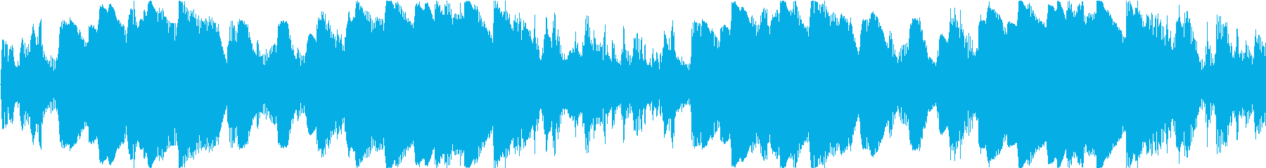 浮遊感のある宇宙的アンビエントの再生済みの波形