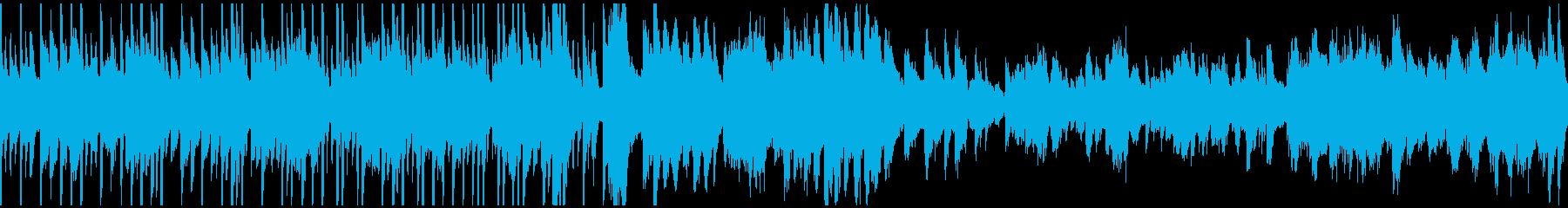 回想曲(ループ仕様)の再生済みの波形