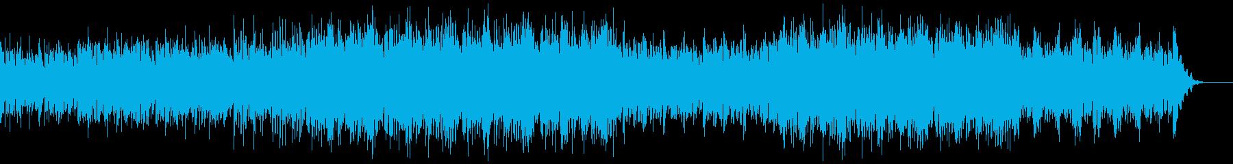 重々しくも挑戦的なピアノBGMの再生済みの波形