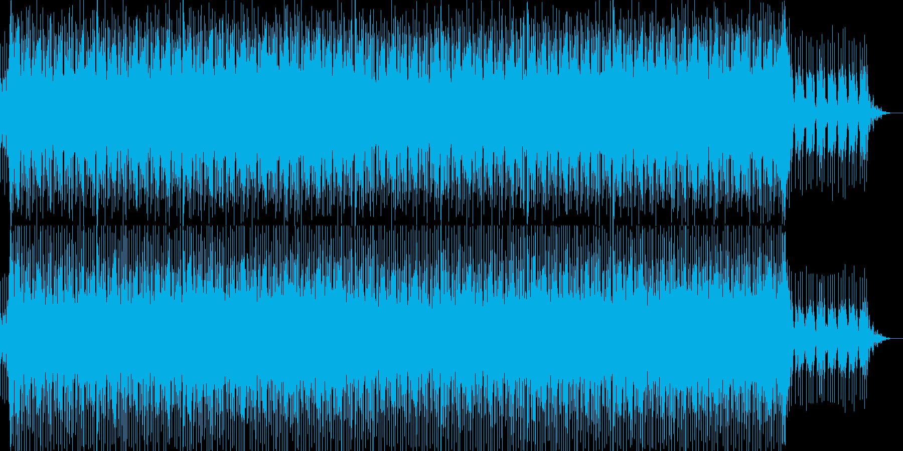シンプル・ナレーションバック-03の再生済みの波形