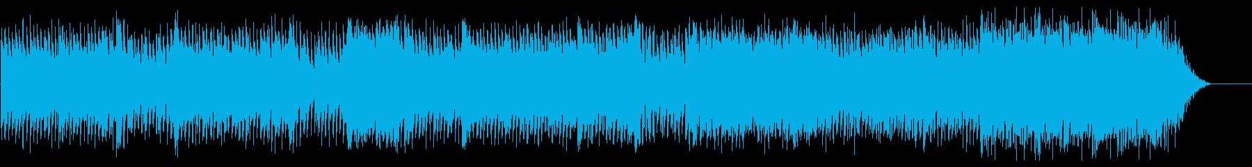 フォークポップの再生済みの波形