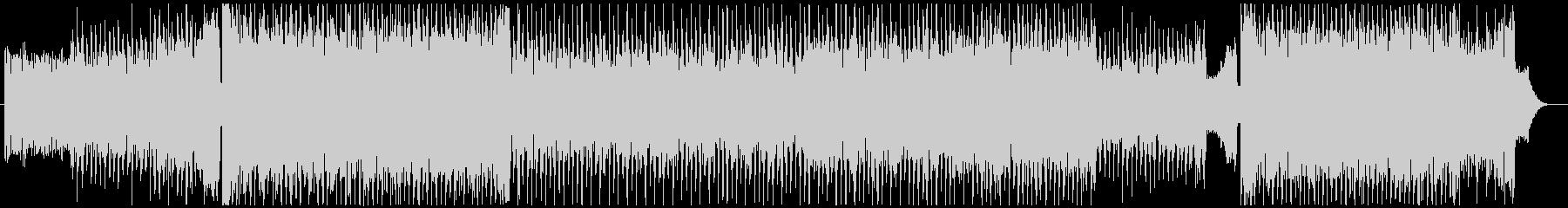 怪しく歪な雰囲気のEDM系BGMの未再生の波形