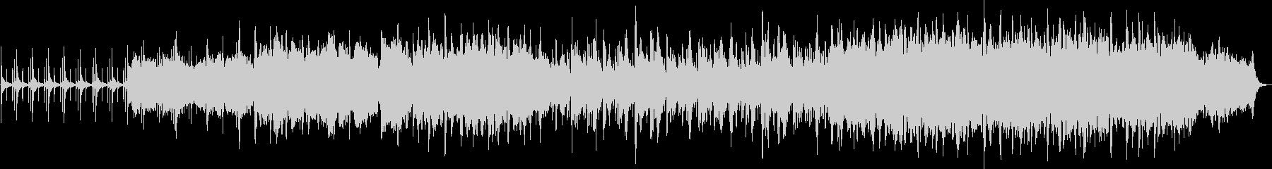 短音のステップが足音を連想させる曲です。の未再生の波形