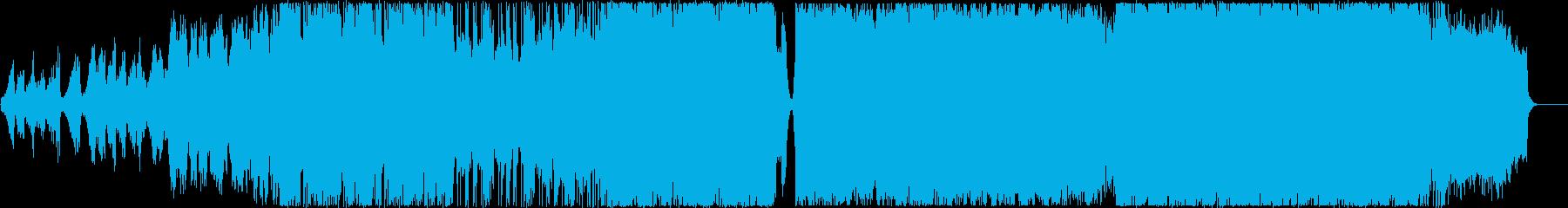 壮大なシンフォニックメタルの再生済みの波形