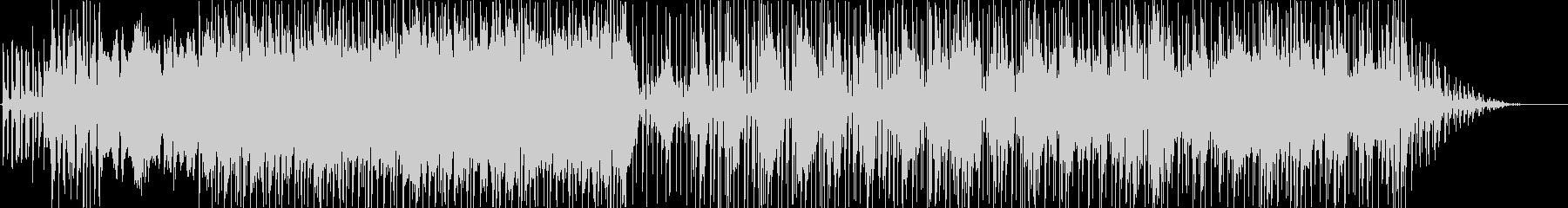 繰り返されるリズミカルなエレクトロ...の未再生の波形