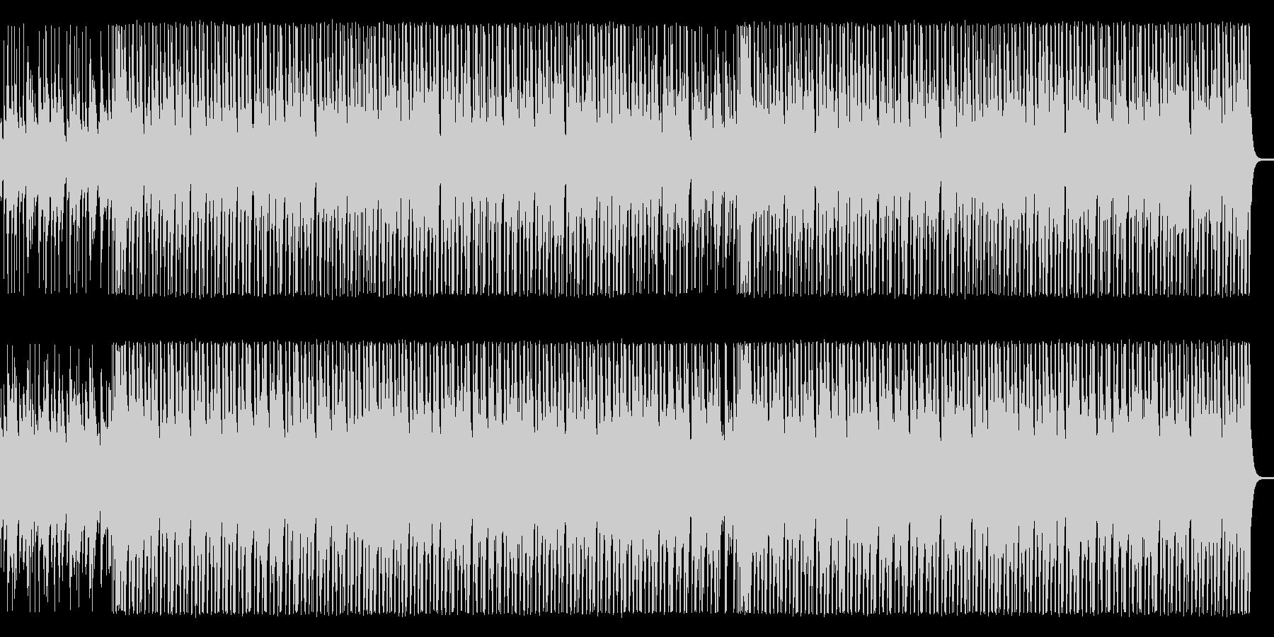 【ベース抜き】軽快な木琴とウクレレの未再生の波形