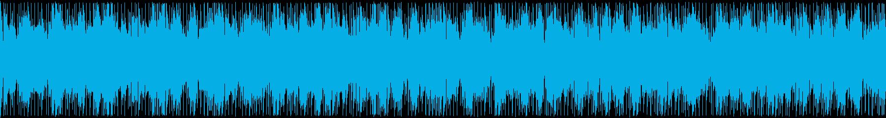 延々と聴いていたいchillループの再生済みの波形