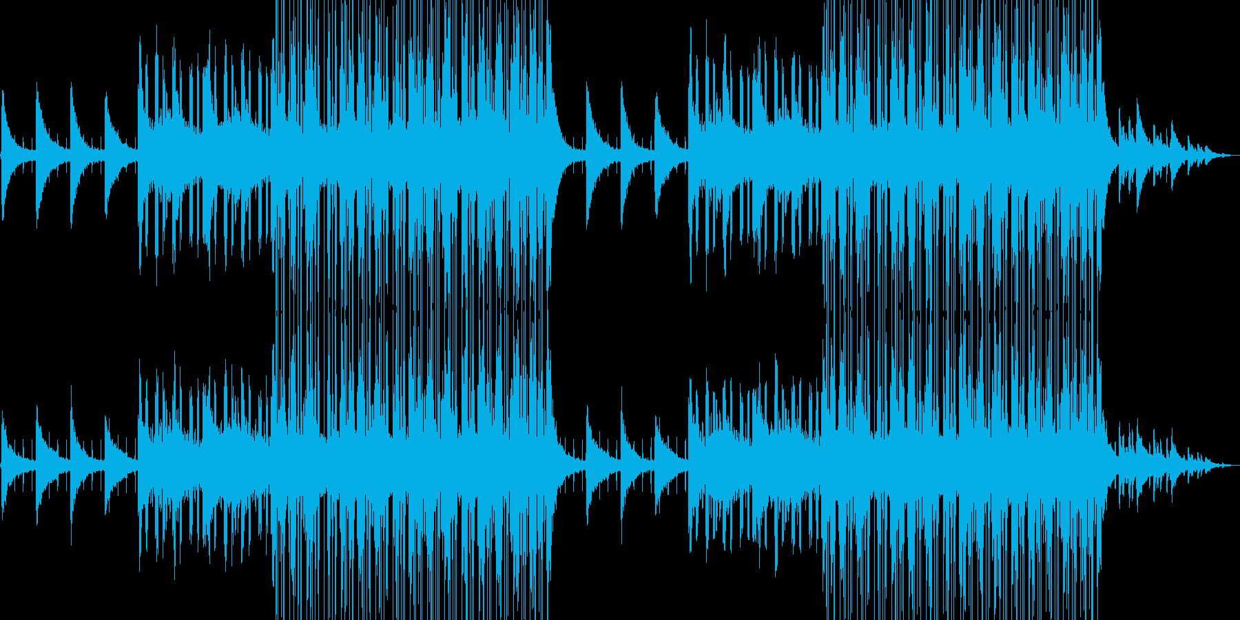夜、チルアウト、ピアノ、ジャジーの再生済みの波形