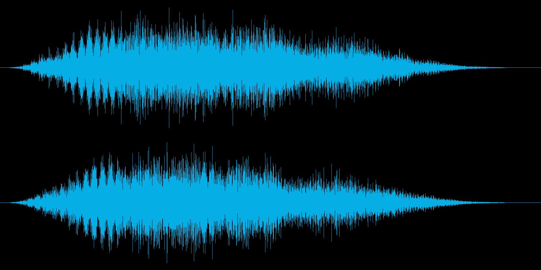 ホラー系/廃墟/不気味の再生済みの波形