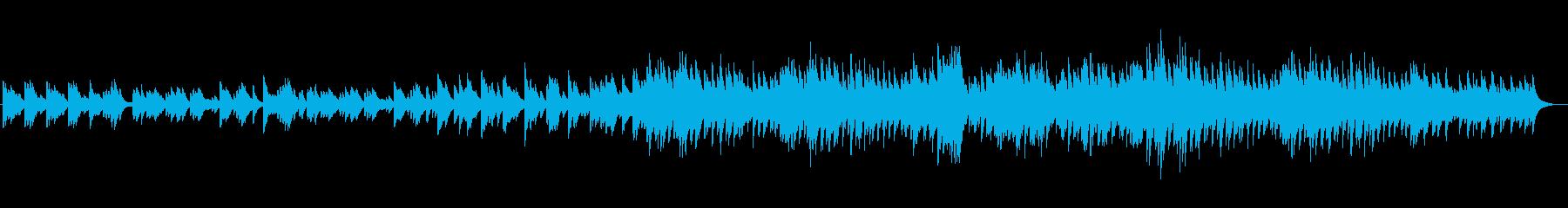 力強い旋律が印象的なピアノソロの再生済みの波形