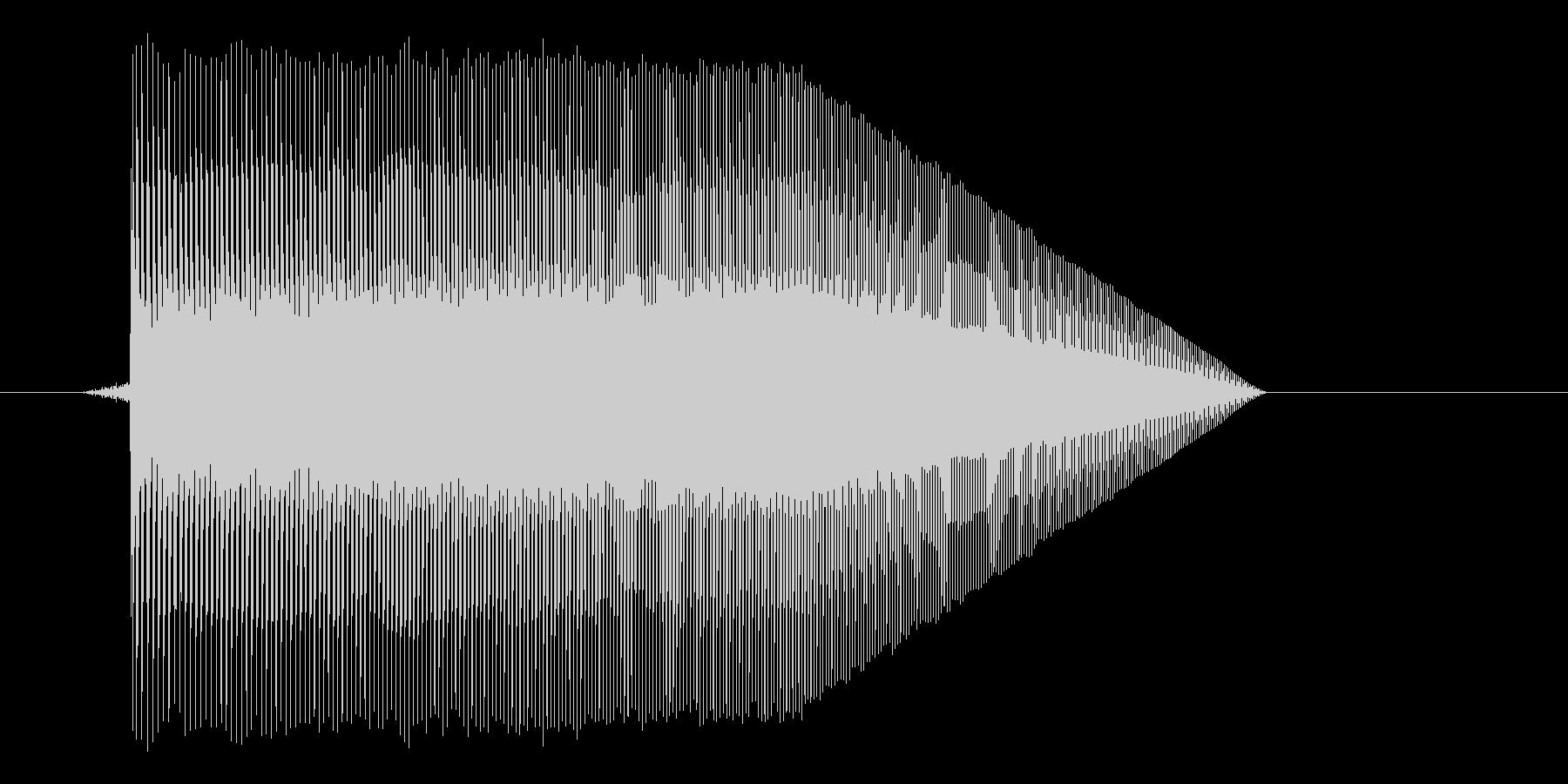ゲーム(ファミコン風)ジャンプ音_007の未再生の波形