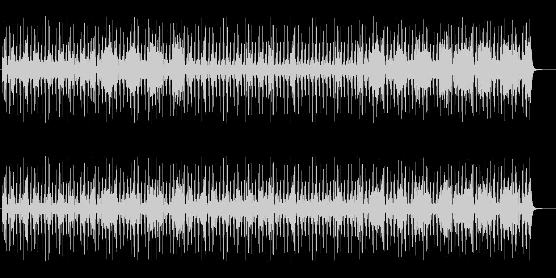 シンプルで幻想的なスピリチュアルサウンドの未再生の波形