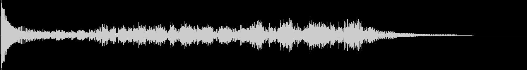 ドラムロール低波の未再生の波形